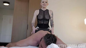 Fabiana Uses Her Evil Skills For Pegging Lance's Ass.