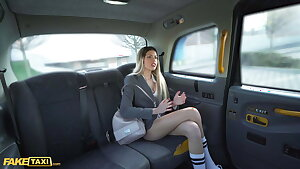 Fake Taxi – Spanish Babe With Big Tits Macarena Lewis Gives POV Blowjob