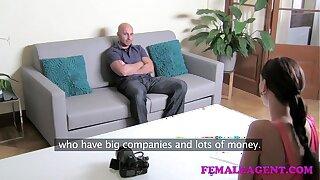 FemaleAgent HD Big manmeat audition