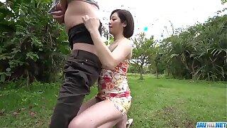 Dashing Japanese woman, Minami Asano, full porn in outdoor  - More at javhd.net