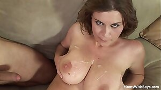 Big Tit Mummy With Nice Titties Hard Plumbed