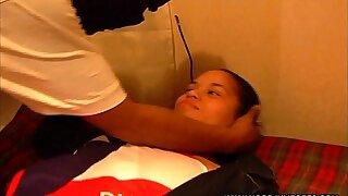 HOODJUMPOFFS: LATINA TEEN GETS Jaws FUCKED & Manhandled IN AMATEUR VIDEO