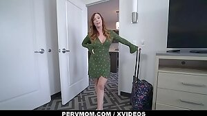 Mom (Dani Jensen) and Son Fuck on Webcam for Money - Perv Mom