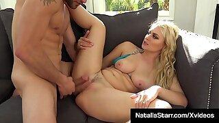 Sex Fiend Natalia Starr Takes Rigid Dicking In Her Tight Twat