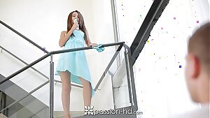 Passion-HD - Hot European Alexis Brill ditches hitachi for real cock