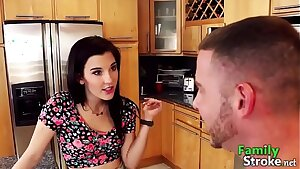 Step Sisters Taunt and Fuck Brother in Law - FamilySTROKE.net HD Porn