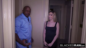 BLACKEDRAW, BBC-hungry ash-blonde hooks up with her old professor