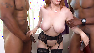 Busty MILF Lauren Phillips Is Greedy For Anal Sex With BBC