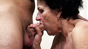 86 yr old granny needs a youthful dick