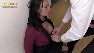 PASCALSSUBSLUTS, Huge-titted Eva May Dominated And Pulverized Harshly