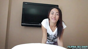 AsianSexDiary – Shy Pinay Filled With Cock & Cum