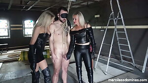 Captured - Toy be beneficial to Mistress Athena and Lady Dark Angel