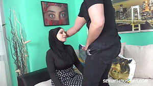 Big-titted Muslim gets fucked hard