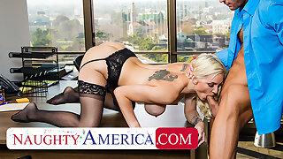 Naughty America - Kenzie Taylor fucks her chief