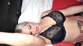Milf Heidi Hills gets a hard anal creampie surprise