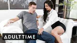 Sexy Stepmom Alexa Tomas Takes Big Dick Like a Professional