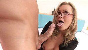 Cougar in Police Uniform With Big Melons Rails Big Dick, Anal & Hard