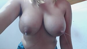 Milk-Queen Engorged Tits Lactating Letdowns - compilation