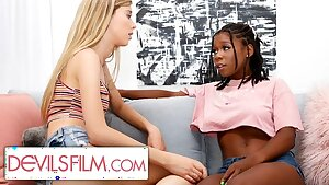 Haley Reed is Comforted By Her Sexy Lesbian Best Mate