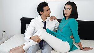 Indian MILF COVID patient pulverized by the pervert Doctor